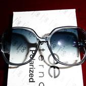 Красивые солнцезащитные очки Eternal. 100% протектор защиты. Серо-голубые.крупные