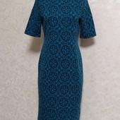 Симпатичное мягенькое трикотажное платье р..44/48.В состоянии новой вещи.