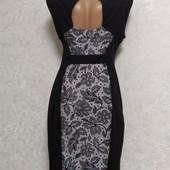 Очень красивое фирменное платье с интересной спинкой р.48/50. Новое