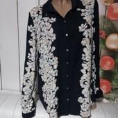 Вау! Шикарная блуза размер 50