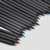Цветные карандаши Brilliance 12шт. Чёрное дерево.