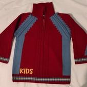 Теплый свитер 2-4 года