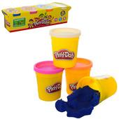 Пластилин Плэй-до, Play-doh + в подарок воздушный пластилин