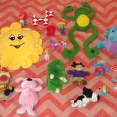 Огромный лот самых разных игрушек