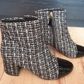 Текстильные ботиночки, внутри полностью натур. кожа! р.36 (23 см)