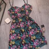 Клёвое платье в цветы