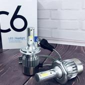 Автомобильные лампы светодиодные LED лампы H4 H7 лед автолампы ксенон