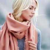 Теплый шарф шаль палантин 200*100 Tcm Tchibo Германия
