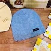 Ангоровые шапочки унисекс. на флисе. размер 52-56см объем