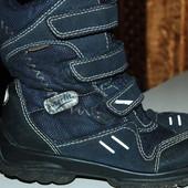 зимние ботинки superfit 29 р темно синии