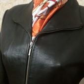 Успейте! Куртка натуральная кожа плотная ПОГ -46 см Нем секонд!