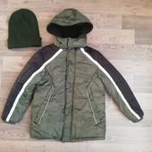 Зимняя куртка на мальчика 6-8 лет