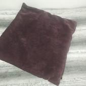 Мягусенькая велюровая наволочка,44х44 см. в лоте 1 штука( в наличии две)