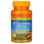 Витамин B-12 с ароматом вишни, 1000 мкг, 30 таблеток для рассасывания, США