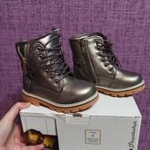Зимние ботинки стелька 16,5 см