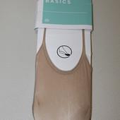 C&A носки без пятки капроновые в наборе 3 пары размер 35-42