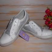 Слипоны для девочек р36 Том м белые