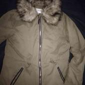 Не пропусти:))),готуемось до весни. Стильна,демі куртка 46р.в ідеальному стані,Всього за 130грн