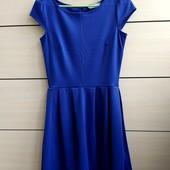 34р. Фиолетовое приталенное платье Doroty Perkins, замеры