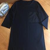 Темно синє плаття Cos, XS