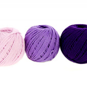 Новый в упаковке набор ниток для вязания крючком или спицами 3 шт*20г(3*50м) Crelando Германия