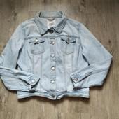 Джинсовая куртка Primark р.14