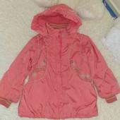 Куртка на флисе 4-5лет