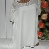 Вау! Шикарная блуза размер 56