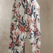 Елегантные брюки от F&F стильный принт