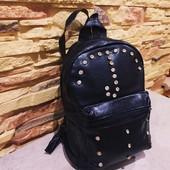 Качественный классный рюкзак экокожа мягкая