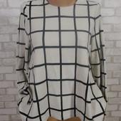 Свитер-блуза удлиненная спинка 42-44
