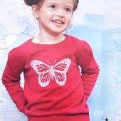 Трикотажный малиновый пуловер размер 62/68
