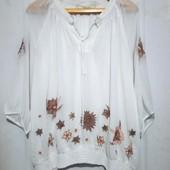 Очень нежная блуза 20 размер. Идеальная