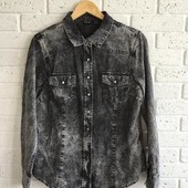 Джинсова рубашка Esmara розм 42 євро, наш М, 100 % хлопок