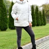 Теплые куртки: белый перламутр.Качество бомбезное!