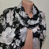 Красивый нарядный легенький яркий шарф палантин 155/28 Акция читайте