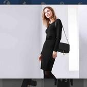 шикарное елегантное черное платье фирмы tchibo
