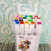 Набор двусторонних художественных скетч маркеров для бумаги SketchMarker 18 шт
