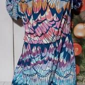 Вау! Обалденное лёгенькое платьице размер 50