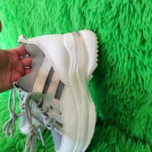 Комбинированные кроссовки из текстиля и экокожи