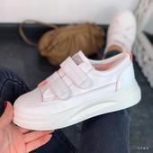 Стильные кроссовочки!Красиво и легко!Удобно и модно!Маломер-37-на 23-23,2см