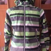 Куртка, термоветрока, мембрана, внутри сетка, р 10 лет 140 см, Reima. состояние хорошее
