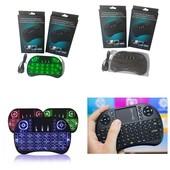 Беспроводная клавиатура (с Led-подсветк) с тачпадом для Smart TV, tv-box, смартфона, планшета, комп.