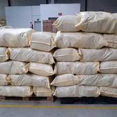 лот 10 шт!, мешки плотные на 50 кг, использовались для перевозки текстиля