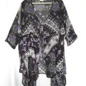 "= Отличная Блуза-кардиган ""Miss Etam"" р-48, уп-10%"