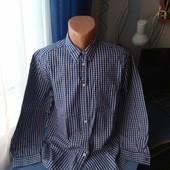 Мужская рубашка, р.XL( ворот 44)