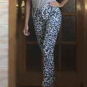 Стоп! ❤Цветные коттоновые штаники Zara,42-44❤Собирайте лоты,экономьте на доставке