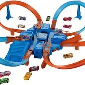 трек Хот Вилс опасный перекресток Mattel Hot Wheels criss cross crash