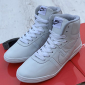 Кожаные! хайтопы* Nike