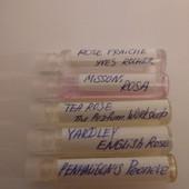 Оригиналы! 6 ароматов с розой-пионом!